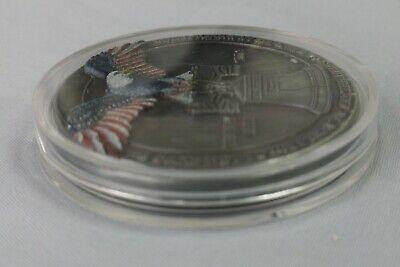 LIBERTY Bell Silver Coin Eagle Anchor Snake 3D Antique Americana Pennsylvania US 10
