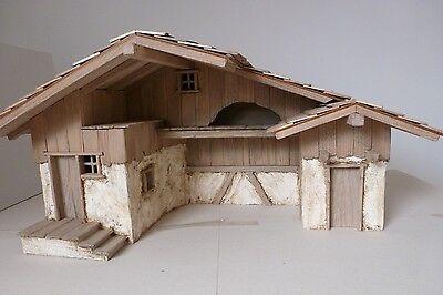 krippenbausatz krippe heustadl 11 13cm bausatz zum krippe selber bauen eur 99 90 picclick de. Black Bedroom Furniture Sets. Home Design Ideas