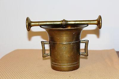 Mörser Schlegel Stössel antik Pistill Küche Pulver Deko Tabletten #6252 6