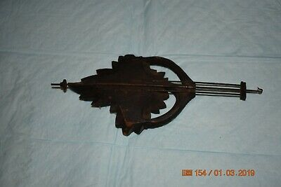 Antique cuckoo clock small pendulum for project 4