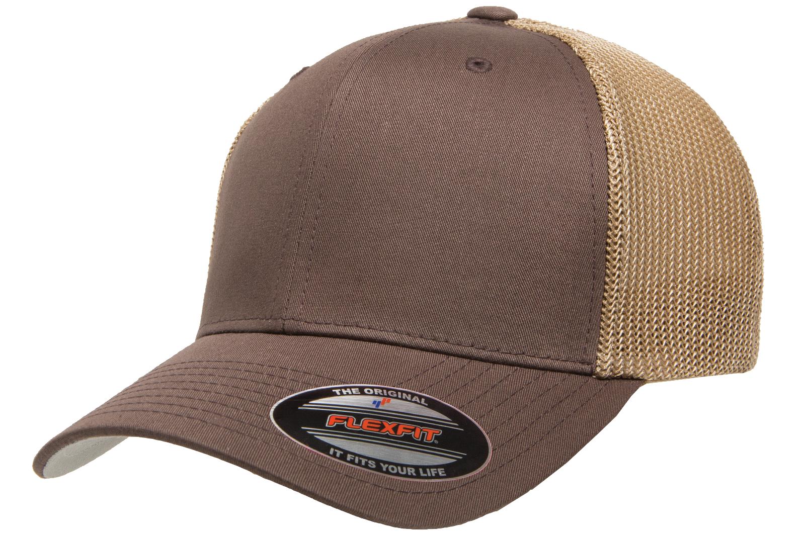 c0f31fa3a50 FLEXFIT - FITTED TRUCKER CAP