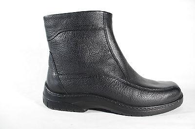 JOMOS HERREN STIEFEL Winterstiefel Boots schwarz Leder