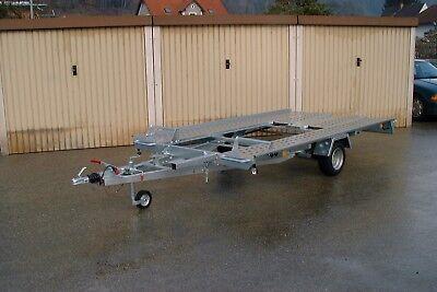 Autotransporter L- AT 350 G-K 1500 kg Pongratz kippbar mit Spiralkabel 4