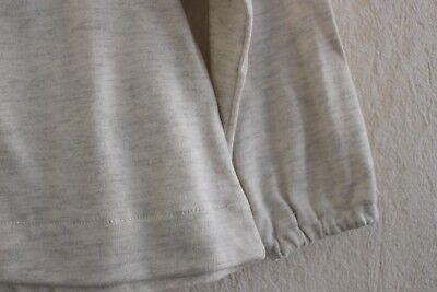 d7b6de8733a ... Neuf   Tee-shirt blouse PETIT BATEAU 4 ans coton gris clair brodée pour  fille