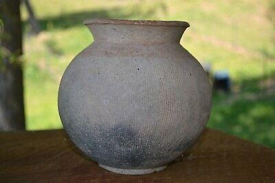 Ancient Archaic BAN CHIANG Pottery Pot Vessel Northern Thailand Cord Wrap 4