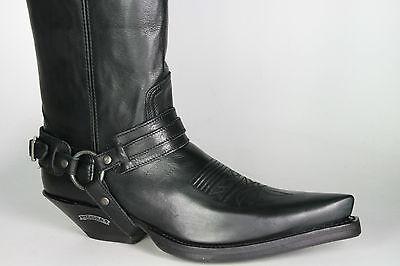 00 7977 Sendra 359 Eur Musketierstiefel Negro Boots Overknees zSxUHwqx76