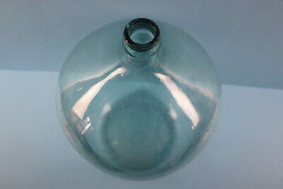 Alter  Glasballon Transparent Ca 10 Liter Nr 87 4
