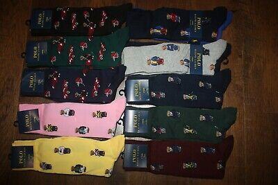 Brand New Polo Ralph Lauren Men/'s 2-Pack Stretch Socks SHIP FREE FAST US