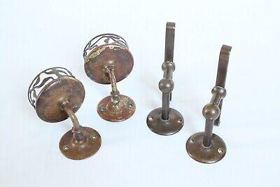 antique bathroom cup tumbler holder shelf supports | jl mott vtg deco victorian 2
