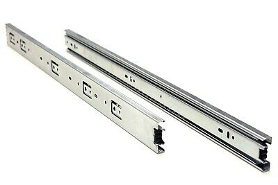 "10 Pairs Full Extension 100-lb Ball Bearing Drawer Slides 8""-24"" 7"