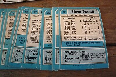 Topps Blue Back Football Cards 1979 - VGC - Pick The Cards You Need! Nos 300-396 2