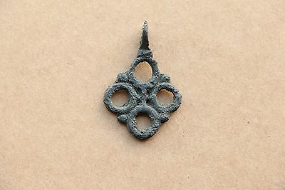 Beautiful RARE Viking Kievan RUS Pendant Cross 9-10 AD 4