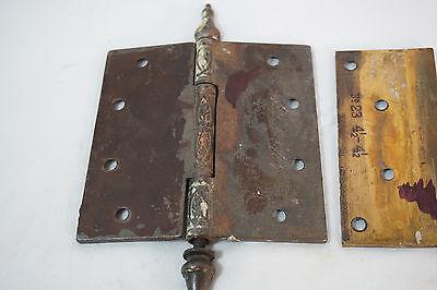 Antique Door Hinges Aesthetic Hardware Victorian Lot Steeple 1877 Singles 9