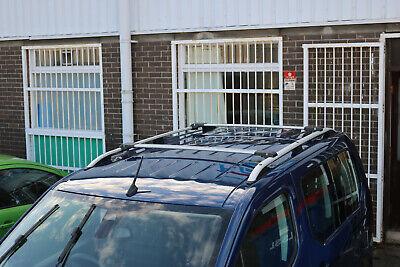 3 BARRE TETTO ACCIAIO G3 FIAT FIORINO DAL 2008 NO RAILS SPONDE
