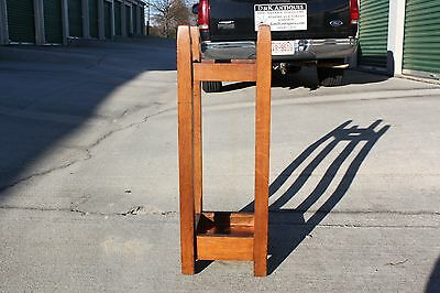 Gustav Stickley No. 54 Mission Oak Arts & Crafts Umbrella Stand 9