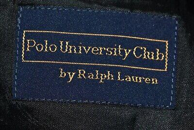 RALPH LAUREN $199 Polo University Club Gray Pinstripe Wool Blazer Men's 40 R 3