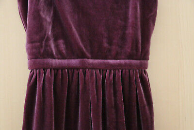Next Girls Purple Velour Culotte/Jumpsuit Age 5 Years BNWT Tag £18 3