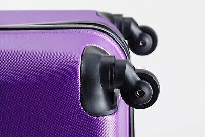 24 inch 65L Medium size Luggage Trolley Travel Bag 4 Wheels TSA lock hard case 7