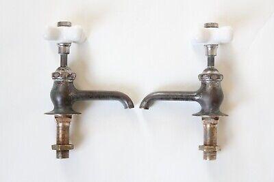 antique faucet bathroom sink   jl mott vtg victorian bathroom plumbing deco bath 9