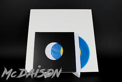 "McDAISON - 100 buste carta forata per dischi 45 giri 7"" BIANCHE con VELINA 4"