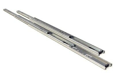 "10 Pairs Full Extension 100-lb Ball Bearing Drawer Slides 8""-24"" 8"