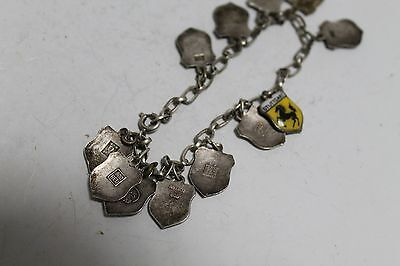 Antique Authentic Hand Made Charming Silver Coins Woman Chain Bracelet. 7