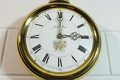Old Comtoise Wall Clock Dutch Movement Vintage Old Clock 10