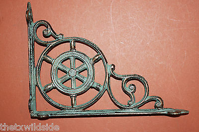 (4),marine Decor,antique Look,corbels, Shelf Brackets, Beach Decor, B-31 4
