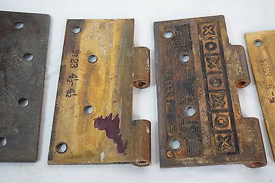 Antique Door Hinges Aesthetic Hardware Victorian Lot Steeple 1877 Singles 10