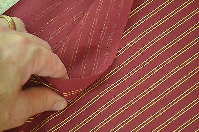 """C2497 43/"""" JoAnn Orange /& Green Stripes on Quilter/'s Cotton By-the-Half-Yard"""