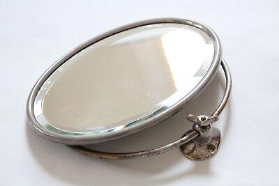 antique bathroom mirror shaving | san o la art brass vtg victorian deco mirror 5