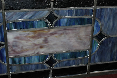 Antique Stained Glass Leaded Church Window-Religious-Eugene Bellinger-LARGE 8