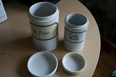 Porzellandosen Apothekerdosen (2 Stck.) 4
