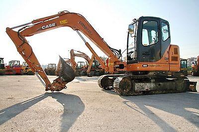 Case CX75SR,CX80 Tier 3 Crawler Excavator Workshop Repair Service Manual Part Number # 87676026