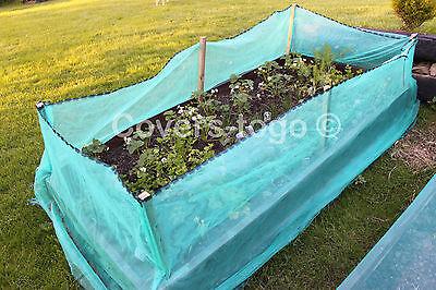 Green Debris Netting 1M X 50M Scaffolds Garden Allotments Net 9