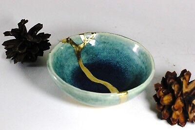 Kintsugi - Blue Chidori ( Small ) 8