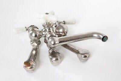 antique faucet kitchen sink | chicago vtg mixing faucet shower victorian deco 9