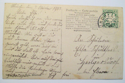 Ansichtskarte Adel  Monarchie Bayern Herzogin Karl  München 1907