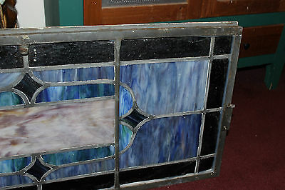 Antique Stained Glass Leaded Church Window-Religious-Eugene Bellinger-LARGE 10
