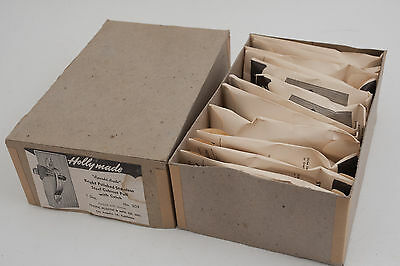 Holly Made #309 Sparkl-Brite Stainless Steel Cabinet Door Pull Handle NOS (D2R) 7