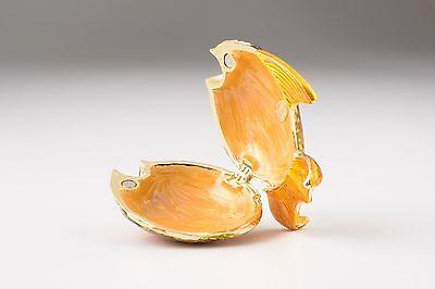 7 Of 11 Fish Trinket Box By Keren Kopal Austrian Crystal Jewelry Faberge