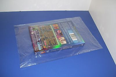 100 CLEAR 20 x 24 POLY BAGS PLASTIC LAY FLAT OPEN TOP PACKING ULINE BEST 1 MIL 3