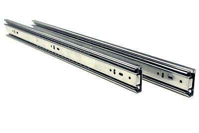 "10 Pairs Full Extension 100-lb Ball Bearing Drawer Slides 8""-24"" 2"