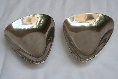 Magnificent Pair Of Sterling Silver Art Deco Reed & Barton Dishes 3