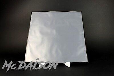 McDAISON 100 BUSTE INTERNE LP ANTISTATICHE trasparenti inner 33 giri spesse 65my 2