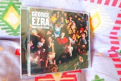 """George Ezra: New Sealed Fast Freepost """"Wanted on Voyage"""" Debut CD Budapest 12"""