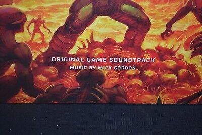 DOOM - GAME SOUNDTRACK, Limited 2LP 1st Press 180G RED VINYL New & Sealed! 4