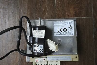 YASKAWA AC Servo Drive SGDM-01BE W/SGMAH-A5BAF41 Motor (50w)