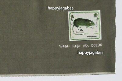 "Kapital Capital Fast Color Selvage Bandana /"" Betsy Ross /"" Khaki From Japan New"