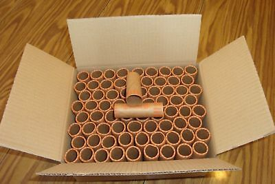 100 PREFORMED QUARTERS WRAPPERS ROLLS - Quarters Tubes 3